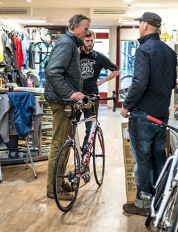 Advice from an independent bike shop can prove invaluable