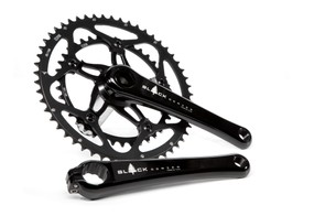 A manly 53x39 Black Series crankset, exclusive to Wiggle