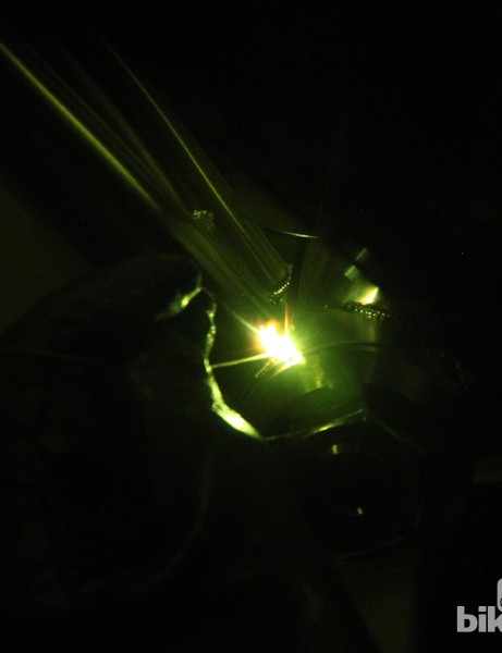 Ever wonder what a welder sees through the mask? Here you go