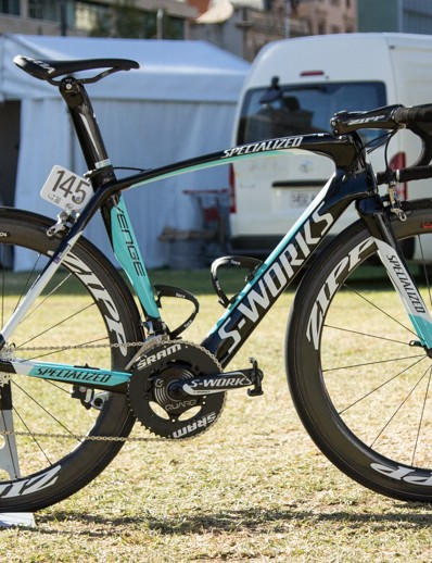 Mark Renshaw's Specialized S-Works Venge – he's riding Specialized again just like old times