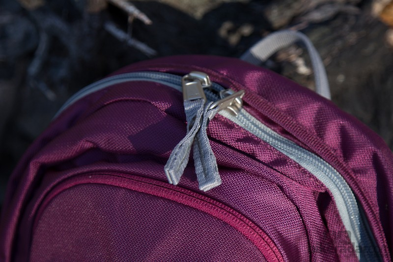 Deuter are big on the little details - even the zippers feature snap-lock buttons