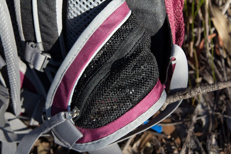 The large waist straps double as additional storage - very useful for energy gels or other small items