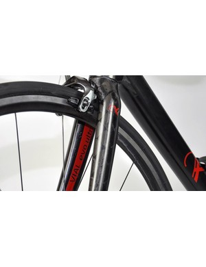 A dedicated fork from THM means that, regardless of sizing, all Vial evo Ultra framesets weigh less than 1kg