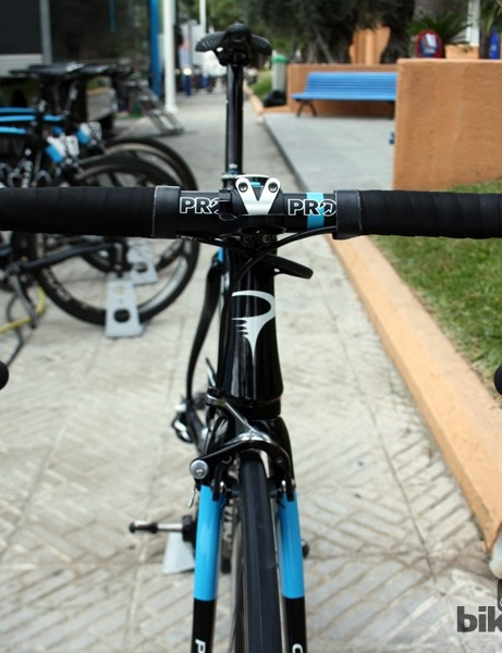 Wiggins uses an all-alloy cockpit from team sponsor PRO