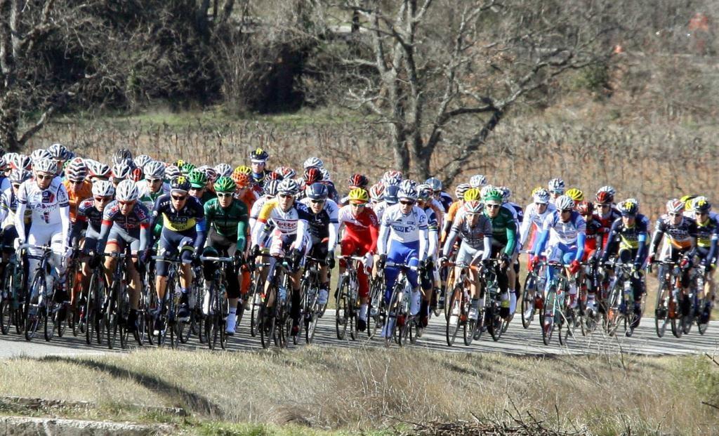 Un'immagine del Tour Med edizione 2013