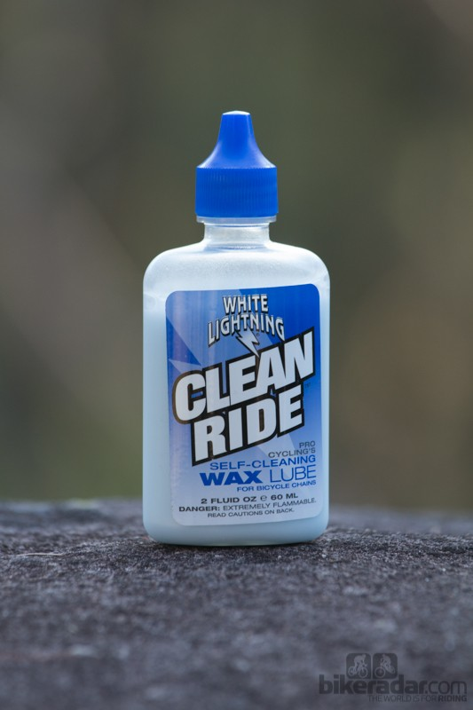 White Lightning Clean Ride lube (2oz bottle)