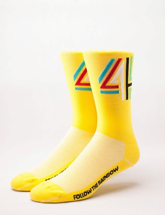 We would imagine 4Shaws Maillot Jaune sock are like wearing the yellow jersey, but on your feet