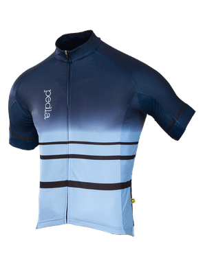 The Pedla's Dye Hard Blue Gradient summer jersey