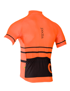 Pedla's Orange Full Gas Summer Jersey