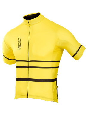 The Pedla's Yellow Full Gas Summer Jersey