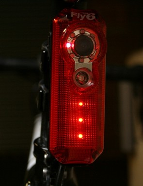 LEDs flash in a number of combinations