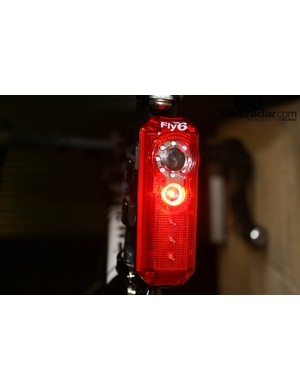 The Fly6 rear light has an integrated camera to catch bad driving