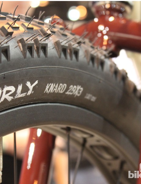 The plus in '29+' denotes the fact that these 29in tyres are 3in wide and offer some of the benefits of fat bikes in more manageable package for general mountain bike use