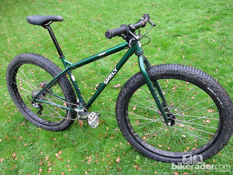 Introduced in 2012, the Surly Krampus is designed around 3in-wide 29er tyres