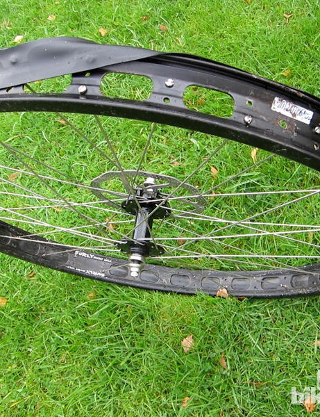 Surly also introduced the 50mm-wide Rabbit Hole rims and 3in-wide Knard tyres to complete the 29+ ensemble