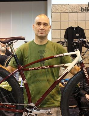 Curtis Inglis won 'Best Mountain Bike' at NAHBS in 2013 for his 29+ Retrotec