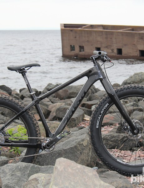 While 29+ can take the edge of rough terrain, they lack the float over snow and sand that fat bikes are known for