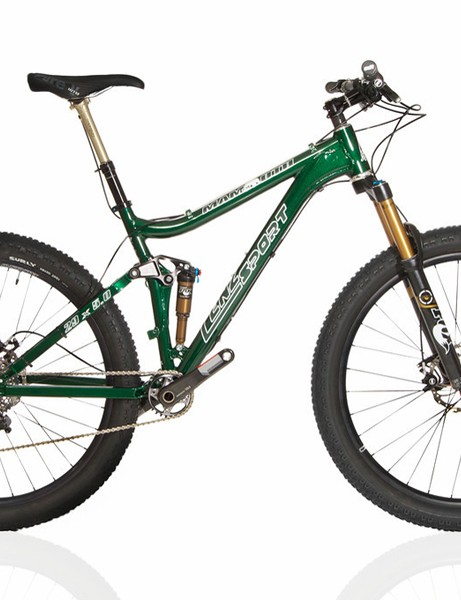 The Lenz Sport Fat-Moth is the first purpose-built 29+ full suspension