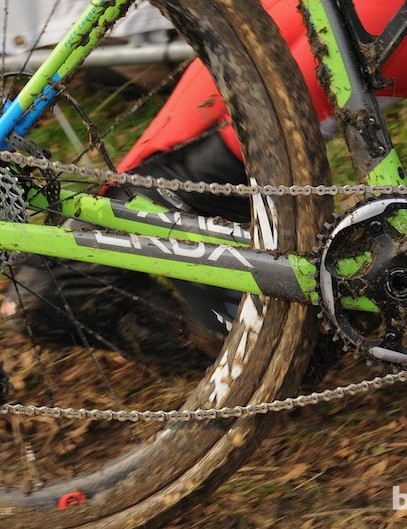 Anderson's SRAM CX1 single front ring