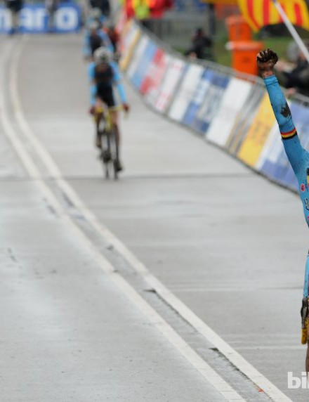 The junior race saw a Belgian clean sweep