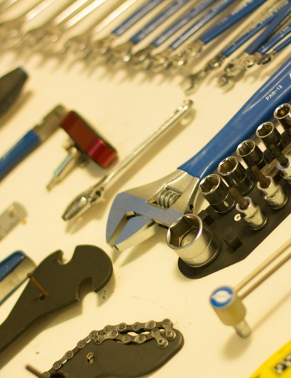 Bicycle mechanics often need a staggering array of tools – we've picked 10 that we use most regularly. They make all the difference to our bike fettling!