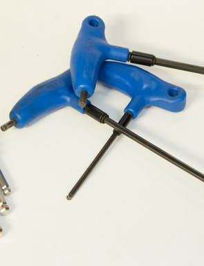 Allen keys are the most commonly used tools on a modern bicycle - a quality set is a must