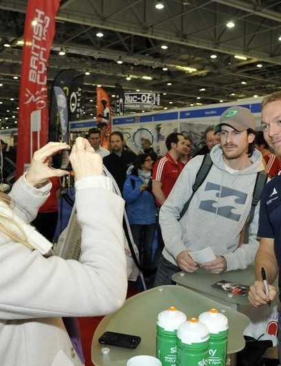 Sir Chris Hoy will be there. Who else will you spot?