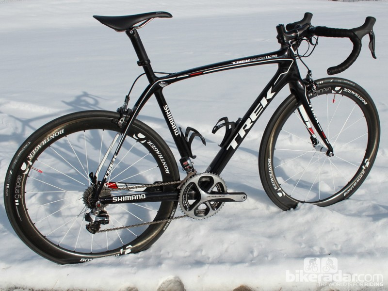 The Trek Domane Classics Edition is the longest and lowest frame we've ever ridden
