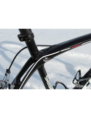 The heart of the Domane is the IsoSpeed 'decoupler', which allows the full seat tube to flex