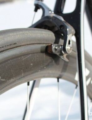 Although Bontrager isn't keen to promote this fact, Zipp produces the carbon clincher rims, which performed reliable in our testing on this bike and on many other Bontrager clinchers on other bikes