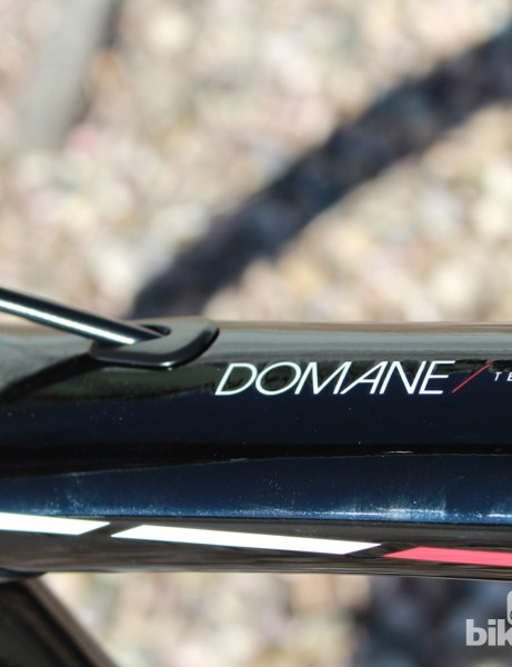 Domane Team Edition: It's not for everybody, but it does offer a unique set of features