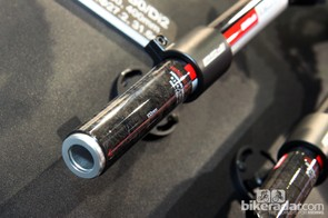 In addition to Shimano sub-brand PRO, FSA also offers seatposts that will readily accept the new internal Di2 battery