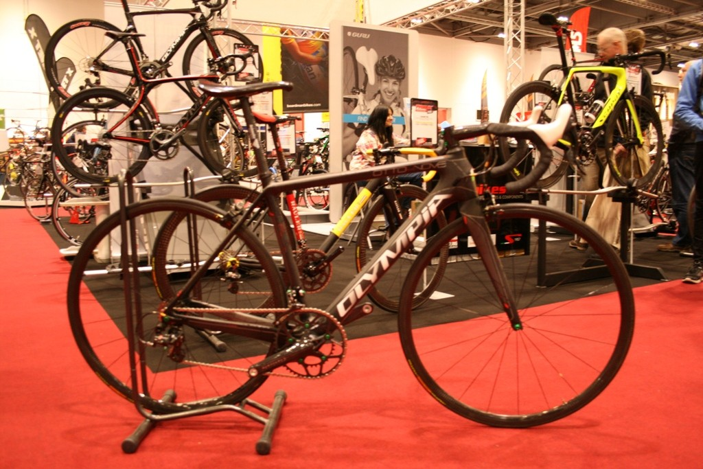 The Olympia 849 – a 4.26kg super bike with all the wow factor you could want