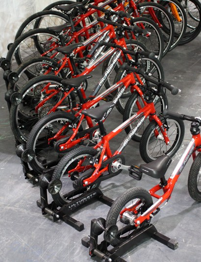 Islabikes had demo models to suit humans of almost any size