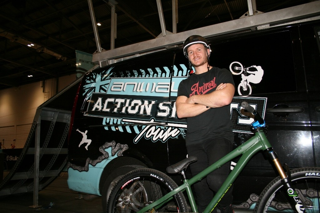 Blake Samson, Martyn Ashton's team-mate on the Animal/WD-40 Action Sports Tour admits memories of the accident still haunt him