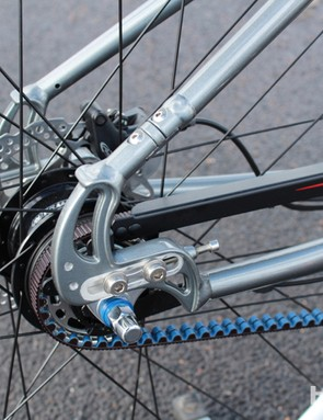 Spot has a close partnership with Gates Carbon Drive, which makes the belts for Spot's singlespeeds and singlespeed-looking geared bikes