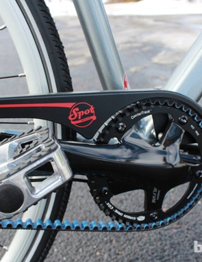 The benefits of belt drives carry over from mountain to urban bikes: no grease, no stretch, no worries about weather and minimal maintenance