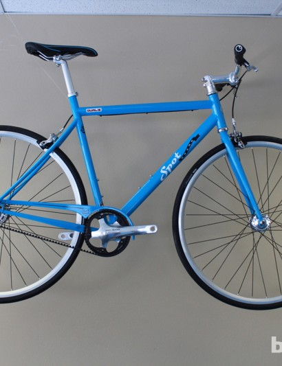 As its name suggests, the Dualie is a two-speed city rig