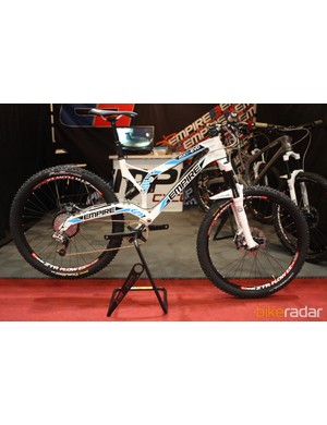 The MX6-EVO is available in complete builds that start at just £2,500 - despite the frame being made in the UK