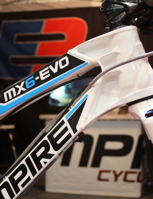 As the name suggests, the MX6-EVO is very much an evolution of the previous MX6 trail bike design