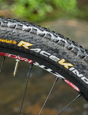 Continental have matched the performance of this tyre with an appropriate name - the Race King