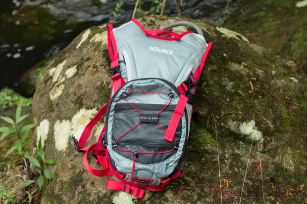 Source Spinner Pro 2 hydration pack: a modular design that offers two packs in one