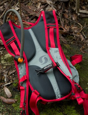 The back features a basic ventilation system that led to sweaty backs among our testers
