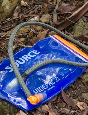 The Source Widepac bladder is a good one - taste-free, durable, and easy to clean and fill