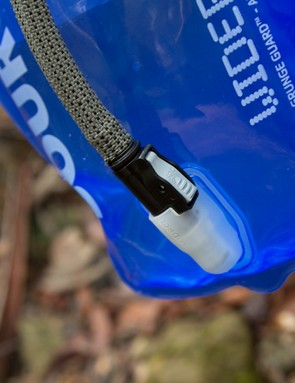 Just like Camelbak, Source now has a quick disconnect for the hose. Removing the hose is simply done with a button and is drip-free