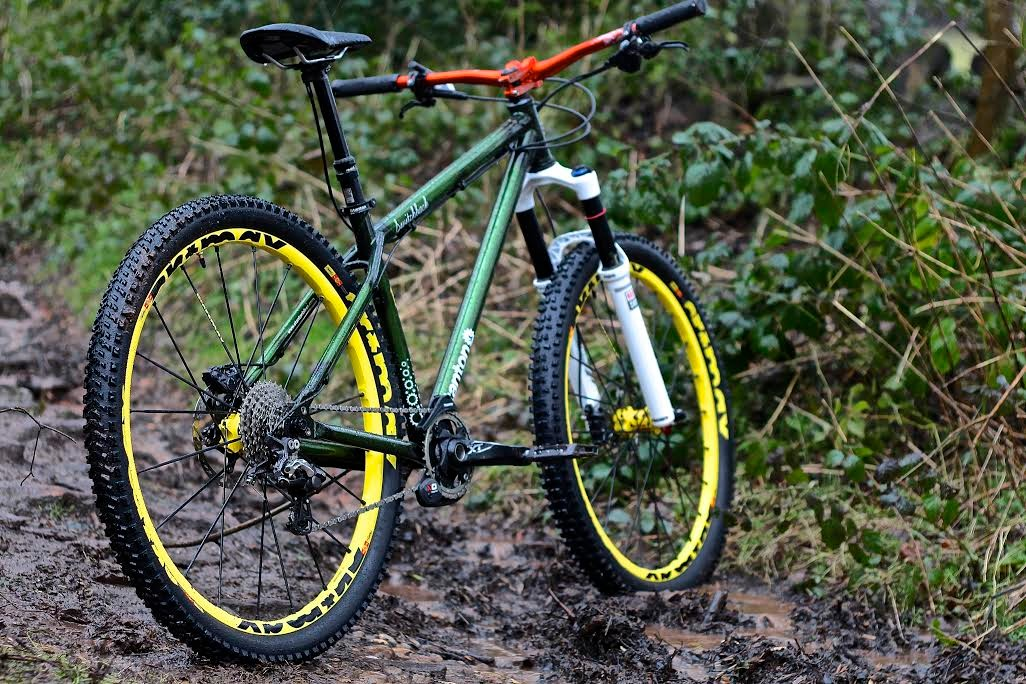 The all-new, super slack Switchback frame from Stanton Bikes