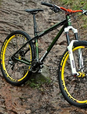 With a 64 degree head angle, the Switchback is as slack as many downhill bikes with dual-crown forks