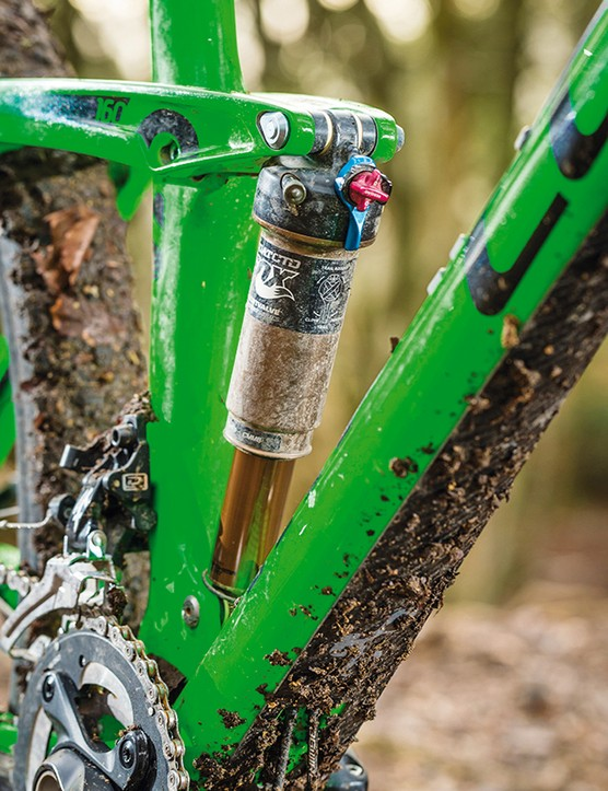Aggressive riders might want to fit a volume spacer to make the shock more progressive