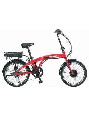 Tesco have launched a new range of electric bike called the Hopper