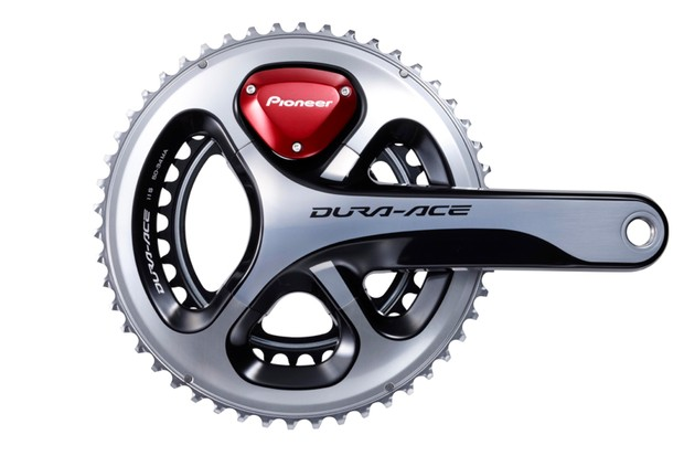The upcoming version of the Pioneer Power Meter will be sold as a complete crankset